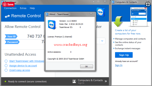 teamviewer 14.1 crack keygen activation code free