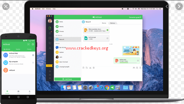 AirDroid 3.6.8 Crack Full Activation Code